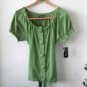 INC | International Concepts | NWT Buttoned blouse